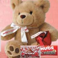 Bear w/ chocolate